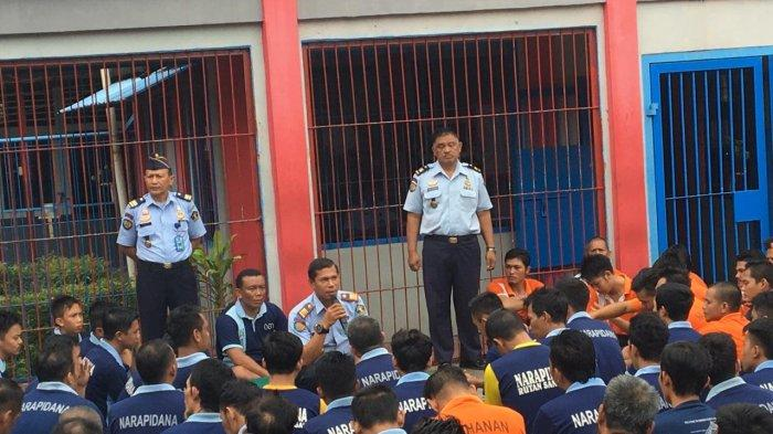 Karutan Sanggau Ingatkan Warga Binaan Larangan Penggunaan Handphone dan Penyalahgunaan Narkotika
