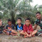 Satgas TMMD Kodim Sanggau Bangun Jalan Untuk Permudah Akses Siswa Sekolah