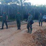 Wasster Kasdam Kodam Xll/Tpr Kunjungi Lokasi TMMD ke 107 Kodim Sanggau
