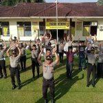 VIDEO: Suasana Ketika Personel Polsek Entikong Senam Andrie Wongso S3