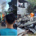 BREAKING NEWS - Satu Unit Ruko di Tayan Hilir Kabupaten Sanggau Hangus Dilalap Si Jago Merah
