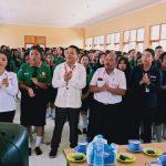 PMI Sanggau Gelar Sosialisasi Sekaligus Donor Darah di SMKN 1 Batang Tarang