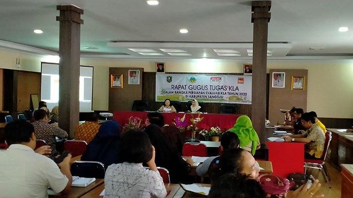 Dinsos P3AKB Sanggau Gelar Gugus Tugas Kabupaten Layak Anak