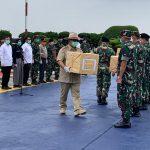 Menhan Serahkan Bantuan Tiongkok ke Gugus Tugas Covid–19 – Covid19.go.id