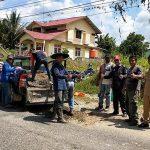 DBM SDA Sanggau Tambal Jalan Berlubang di Jalan RE Martadinata