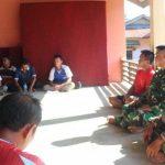 Satgas TMMD Kodim Sanggau Hadiri Rapat Adat di Dusun Jonti