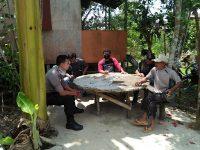 Patroli Dialogis Bripka Rudy Sampaikan Himbauan Kamtibmas