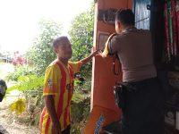 Cegah Corona, Bhabinkamtibmas Beri Himbauan Di Daerah Binaannya