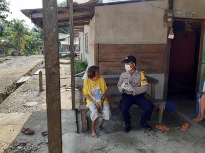 Bripka Marional Gultom Himbau Warganya Peduli Kamtibmas
