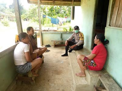 Brigpol Lasro Simandalahi Melaksanakan Kegiatan Sambang ke Rumah Warga Binaan