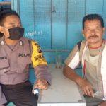 Patroli Dialogis Brigpol Agus Ariyanto Sampaikan Himbauan Kamtibmas