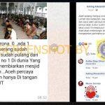 [SALAH] Tidak Ada Pasien Positif Corona di Aceh – Covid19.go.id