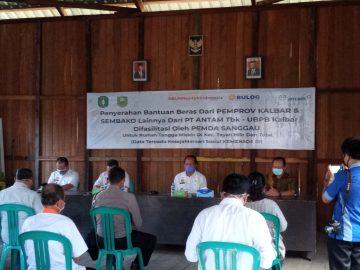 Bantu Warga Terdampak Covid-19, Pemkab Sanggau Fasilitasi Penyaluran 61 Ton Beras di Kecamatan Tayan Hilir