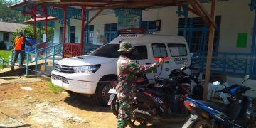 Peduli Kesehatan Warganya, Pemdes Pulau Tayan Rutin Lakukan Penyemprotan Disinfektan