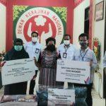 PLN - ANTAM gandeng Dekranasda Sanggau produksi 6 ribu masker