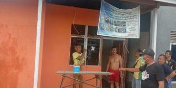 Kades Pedalaman, Tayan Tinjau Pengerjaan Bedah Rumah Swadaya di Dusun Tanjung, Begini Hasilnya