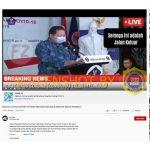 """[SALAH] Video """"Obat COVID-19 Telah Ditemukan dan Siap Disebarkan ke Seluruh Indonesia"""" – Covid19.go.id"""