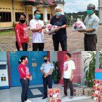 DPK PKPI Kabupaten Sanggau Lakukan Aksi Sosaial Bagikan Sembako