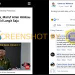 """[SALAH] """"Darurat Corona, Ma'ruf Amin Himbau Mudik Lewat Tol Langit Saja"""" – Covid19.go.id"""