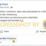 [SALAH] Kota Cirebon Lockdown – Covid19.go.id