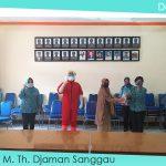 TP-PKK Kabupaten Sanggau Serahkan serahkan Bantuan Perlengkapan APD Kepada RSUD M.Th. Djaman Sanggau