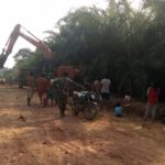 Pengerjaan jalan Dusun Bukong tahap finishing