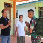 Prajurit Satgas TMMD pamitan, warga Dusun Jonti terharu