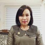 Anggota DPRD Sanggau Susana Herpena Setuju Tak Gunakan Disinfektasi Pada Tubuh Manusia