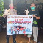 Polsek Sanggau Ledo Ajak Warga untuk Tidak Mudik di Tengah Pandemi Covid-19