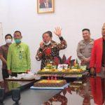 Di Tengah Wabah Covid-19, Pemkab Sanggau Rayakan Hari Jadi Ke-404 Kota Sanggau Via Video Conference