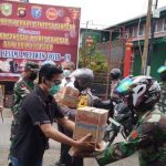 Perkumpulan Bhakti Sentosa Sanggau Bersama Pemkab, Polres dan Kodim Salurkan 1600 Paket Sembako