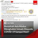 [Top 5] Topik Teratas Periksa Fakta MAFINDO Periode 4-10 April 2020 – Covid19.go.id