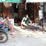 Bengkel Motor Menjadi Sasaran Komsos Satgas TMMD Kodim Sanggau