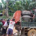 Hasil Gotong Royong, Satgas TMMD Kodim Sanggau Harap Warga Rawat Gorong-Gorong