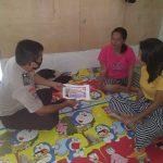 Bripka Ahmad Kardoyo Sampaikan Himbauan Dilarang Mudik