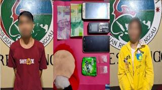 Satres Narkoba Polres Sanggau Kembali Amankan Dua Pelaku Penyalahgunaan Narkotika