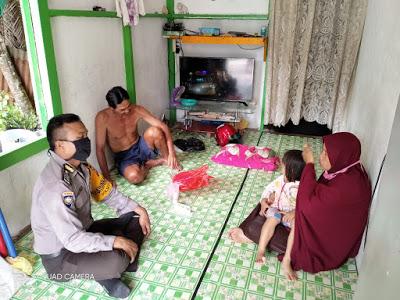 Bripka Suryadi Sambang Dialogis Kepada Masyarakat Serta Berikan Himbauan Kamtibmas
