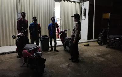 Polsek Tayan Hulu Laksabakan Patroli Cipta Kondisi di Wilkum Polsek Tayan Hulu