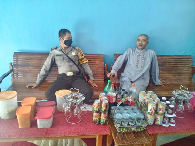 Bripka Saprin Gunawan Laksanakan DDS di Desa Binaan