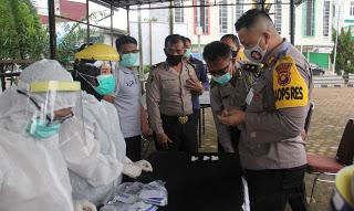 53 Personil Polres Sanggau Lakukan Repid Test