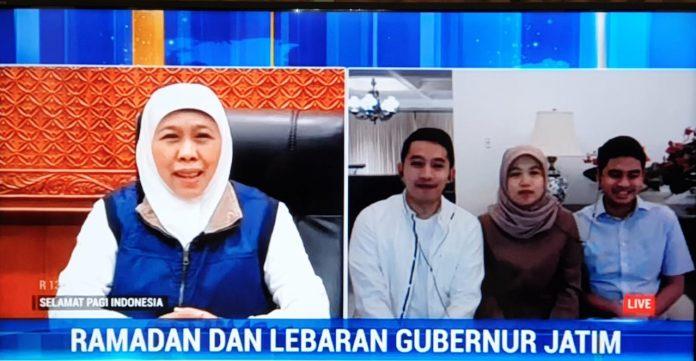 Gubernur Khofifah Ajak Bersilaturrahmi Idul Fitri Secara Online - Berita Terkini
