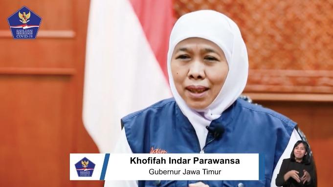 Kasus OTG Terkonfirmasi Positif COVID-19 di Jatim Naik, Khofifah Minta Warga Jangan Mudik - Berita Terkini