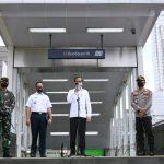 Presiden Tinjau Kesiapan Pendisiplinan Protokol Kesehatan di Stasiun MRT - Berita Terkini