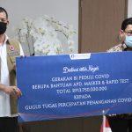 Bank Indonesia Donasikan Alat Kesehatan Penanganan COVID-19 Melalui Gugus Tugas Nasional - Berita Terkini