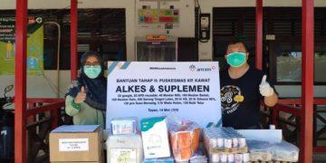 ANTAM salurkan bantuan tahap dua untuk tiga puskesmas di Sanggau