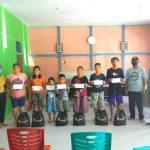 PT ANTAM Tbk-UBPB Kalbar Santuni Anak Yatim pada 6 Desa di Tayan Hilir dan Toba