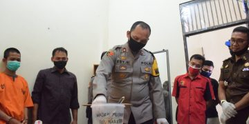 BB Narkoba Jenis Sabu dari Tersangka Warga Sanggau Dimusnahkan Polres Sekadau