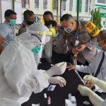 Puluhan Personel Polres Sanggau di-Rapid Test