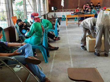 Stok Darah Kritis, Pemuda Katolik Bersama PMI Kab. Sanggau Selenggarakan Donor Darah