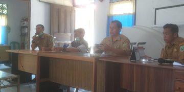 Sosialisasi Kegiatan Desa Fokus Tahun 2020 di Desa Belangin Kecamatan Kapuas